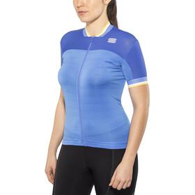 Sportful Grace Jersey Dames, parrot blue/blue cosmic